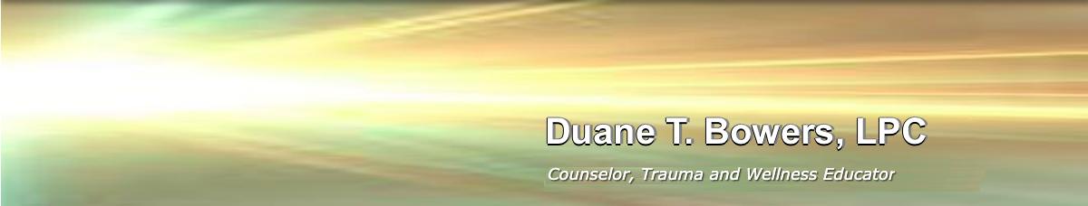 Duane T. Bowers, LPC Logo